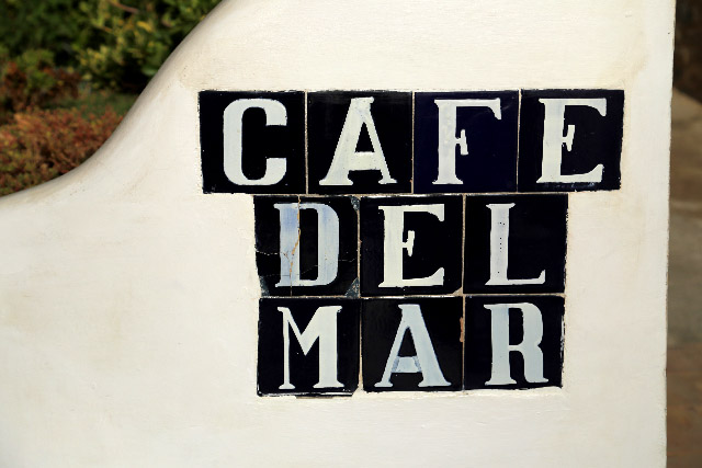 Cafe Del Marカフェデルマール in IBIZA